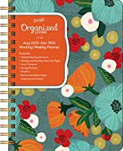 Posh: Deluxe Organizer 17-Month 2020-2021 Monthly/Weekly Planner Calendar: So Much Gratitude
