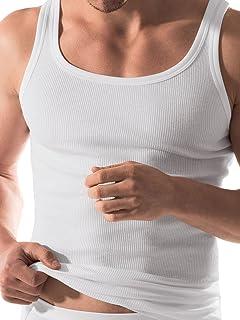 3 Stück ESGE Sportjacke Unterhemd Doppelripp 225-630 weiss