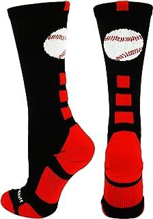 MadSportsStuff - Calcetines de béisbol con Logo atlético