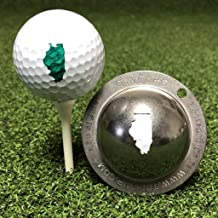 product image for Tin Cup Illinois State Golf Ball Custom Marker Alignment Tool