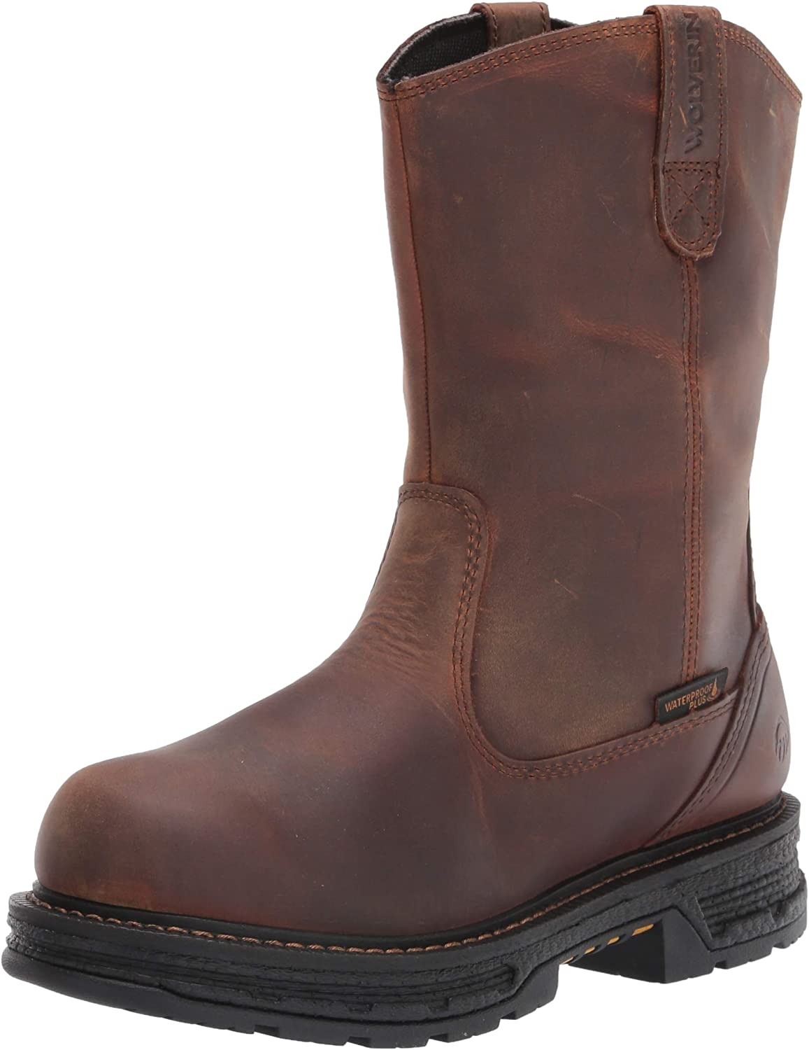   WOLVERINE Men's Hellcat Wellington Boot Construction   Fire & Safety Boots