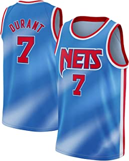 PANGOIE Men's Basketball Jerseys 7# Durant Tracksuits Breathable Sleevless T-Shirts Vests Top