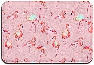 Soft Non-slip Flamingo Bath Mat Coral Rug Door Mat Entrance Rug Floor Mats For Front Outside Doors Entry Carpet 40 X 60 Cm.