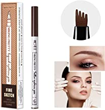 MIUSSAA Chestnut Eyebrow Pencil Brow Tattoo Pen Waterproof Long Lasting Liquid Makeup Soft Brow Gel (Color: Chestnut)