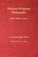 Russian Religious Philosophy: 1989-1990 Lectures