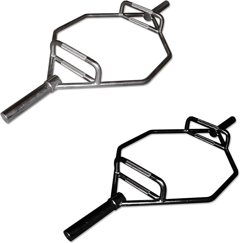 Hex-Bar Professional 50 mm x 140 cm - Hantelstange - Chrom oder schwarz Belastbarkeit  bis 300 kg