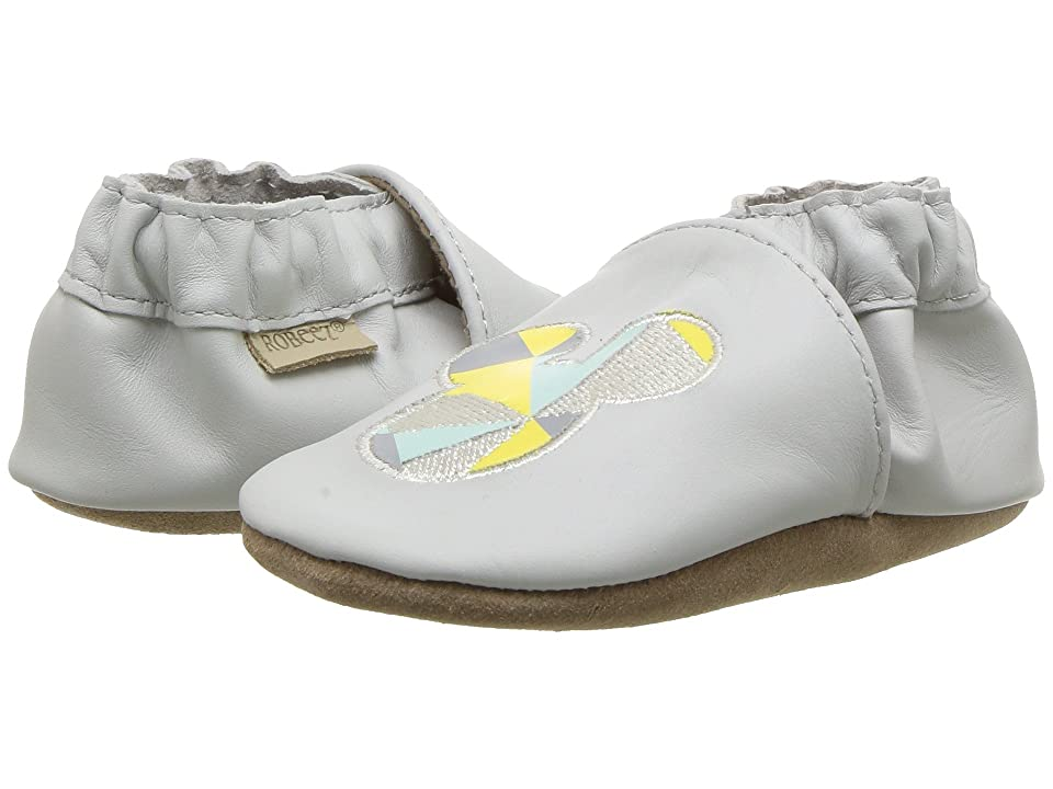 Robeez Disney Believe in Magic Soft Sole (Infant/Toddler) (Grey) Girl