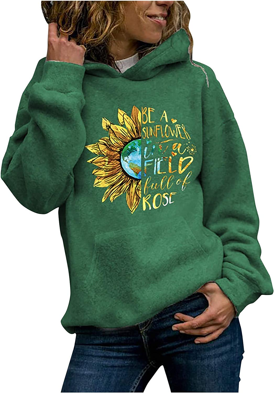 Womens Casual Pullover Hoodies Vintage Jumper Tops Ladies Lips//Leopard//Sunflower Print Sweatshirt Tops Blouse Tee