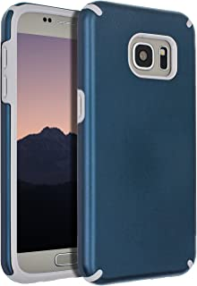 Samsung Galaxy S7 Case,Galaxy S7 Case,SENON Slim-fit Shockproof Anti-Scratch Anti-Fingerprint Protective Case Cover for Samsung Galaxy S7,Navy