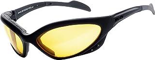 HELLY - No.1 Bikereyes   Bikerbrille, Motorrad Sonnenbrille, Motorradbrille, Chopper Brille   beschlagfrei, winddicht, bruchsicher  TOP Tragegefühl   Brille: speed king 2