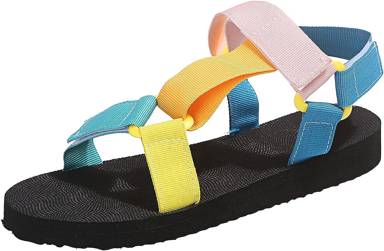Nvtuuer Women's Original Sport Sandals Multi-color Wide Width Hi