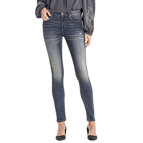 85610f25bdc Miss Me Women's All in Stride Mid-Rise Skinny Jeans - M1001s73