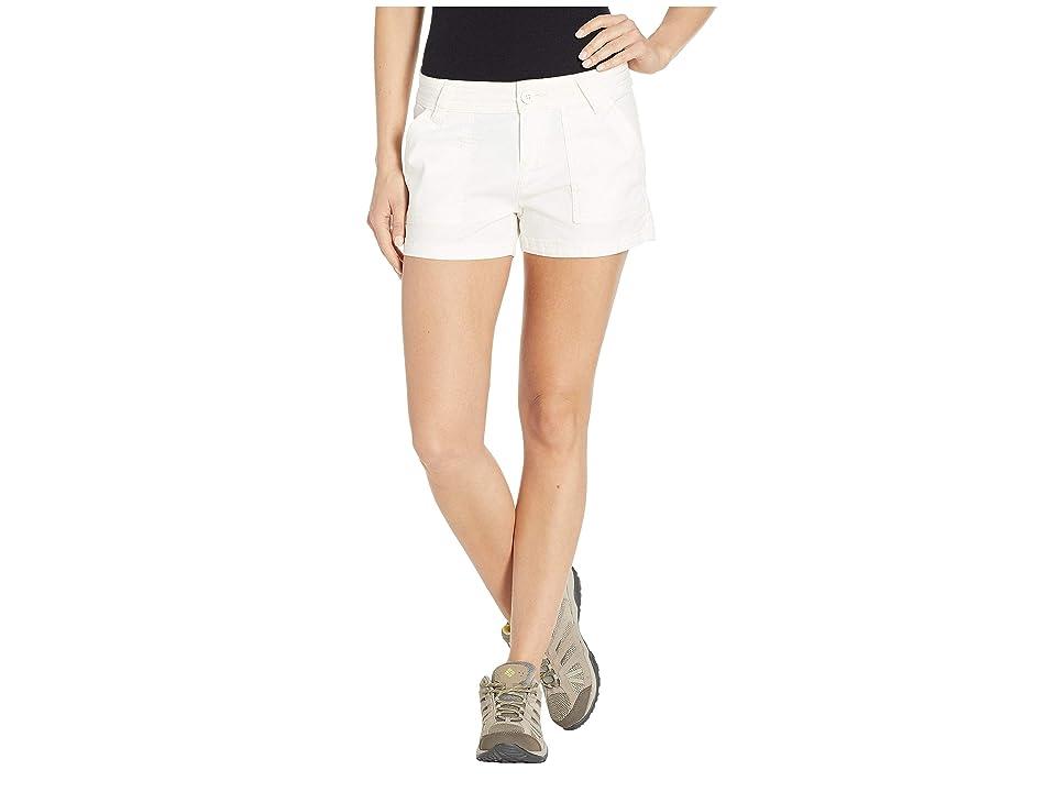 Prana Tess Shorts 3 (White) Women
