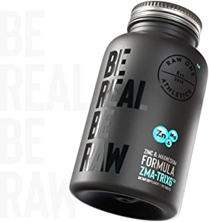 ZMA TRIX6 | Zinc. Magnesio Vitamina B6 ZMA Suplemento | Promueve la fuerza muscular. la resistencia y la recuperación. aumenta los niveles