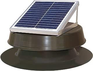 Natural Light Solar Attic Fan 12-watt Bronze