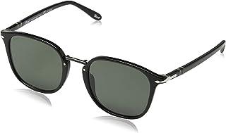 نظارة شمسية للرجال من بيرسول - لون: رمادي - PO3186S 95/58 53ــ 53 ملم