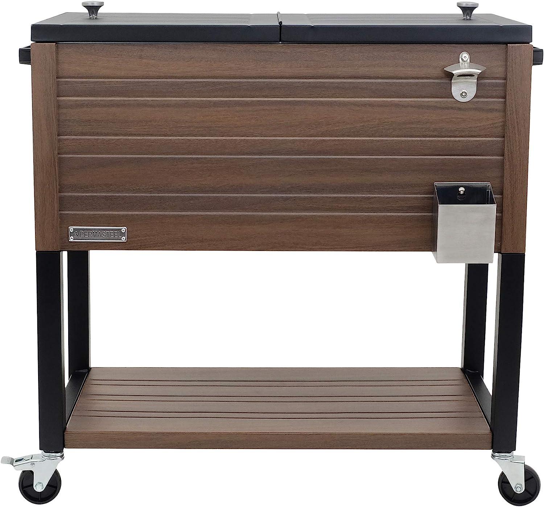 Permasteel PS-205-BRN-AM 4 years warranty 80 Quart Patio Brown Discount mail order Cooler