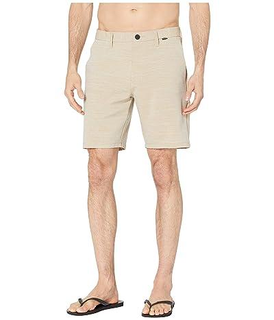 Hurley 19 Dri-Fit Cutback Walkshorts (Khaki) Men