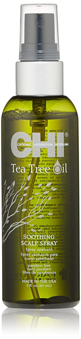 死ドレイン内なるCHI Tea Tree Oil Soothing Scalp Spray 89ml/3oz並行輸入品