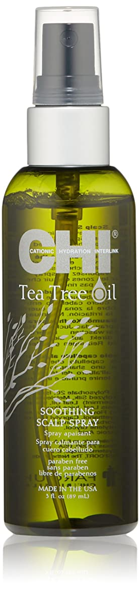 協会毛細血管痴漢CHI Tea Tree Oil Soothing Scalp Spray 89ml/3oz並行輸入品