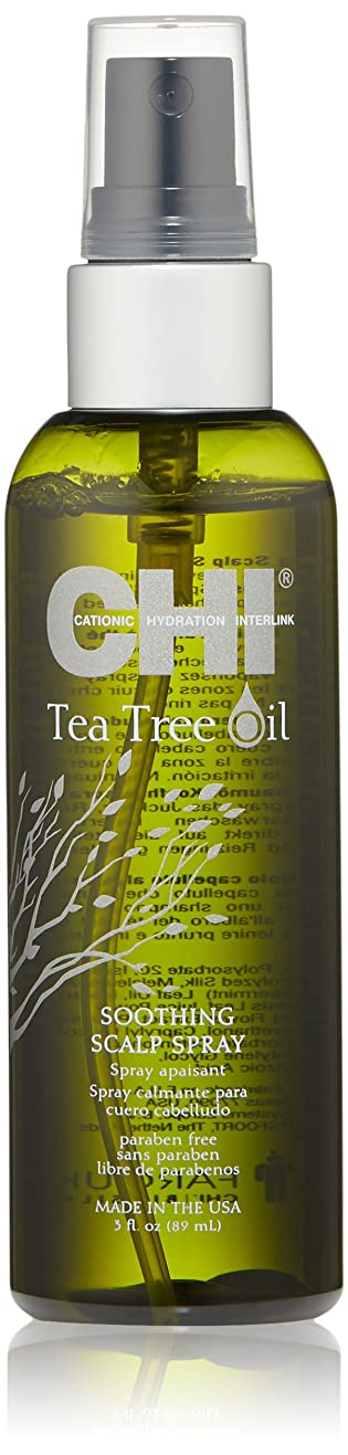 背骨牛脅威CHI Tea Tree Oil Soothing Scalp Spray 89ml/3oz並行輸入品