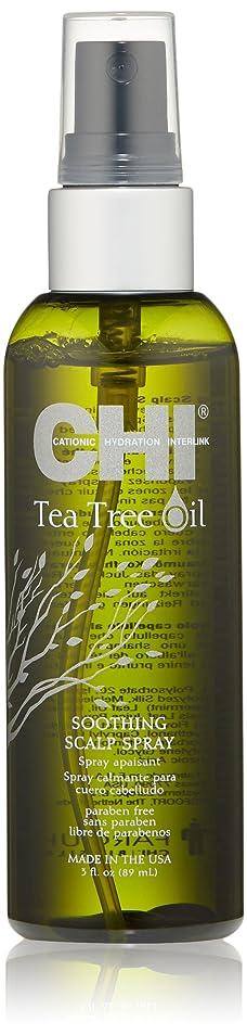 必要性グレートバリアリーフ白菜CHI Tea Tree Oil Soothing Scalp Spray 89ml/3oz並行輸入品