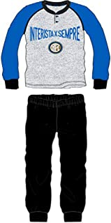 pigiama bambino lungo caldo interlock cotone INTER prodotto ufficiale  IN16043
