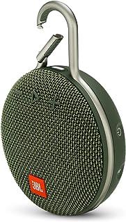 JBL 6925281933080 Clip 3 Wireless Portable Bluetooth Speaker, Green