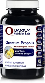 Quantum Propolis, 60 Veg caps - Natural Propolis Formula for Quantum-State Immune Support