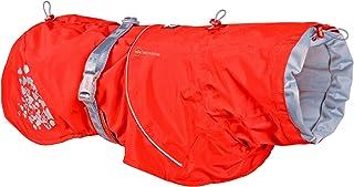 Hurtta Monsoon Coat ECO, Dog Raincoat, Rosehip, 18 in