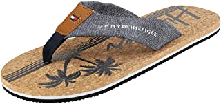 Tommy Hilfiger Chambray Beach Sandal, Tongs Homme