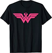 Fight Cancer Women Ribbon Breast Cancer Awareness Tee Gift