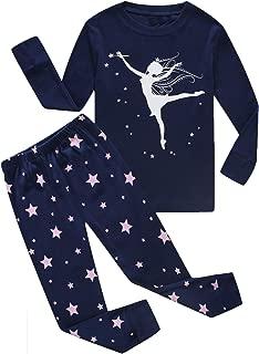 Boys and Girls Christmas Pajamas 100% Cotton Toddler Pjs Long Sleeve Kid Sleepwear Sets