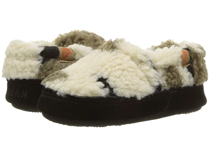 Image of Light Cream Camo Slippers for Boys and Toddlers