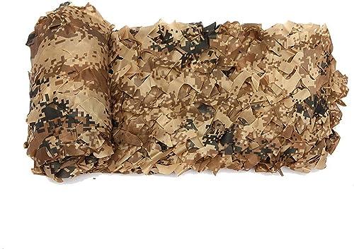 CHAOXIANG Filet D'ombrage Réseau La Grille Jungle Camouflage Crème Solaire Réseau De Pare-Soleil Multi-Taille, Personnalisable (Couleur   A, Taille   6x6m)