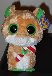 Ty Beanie Boos ~ CANDY CANE the 6`` Hamster ~ MINT with MINT TAGS ~ VHTF ~RETIRED ,#G14E6GE4R-GE 4-TEW6W208962