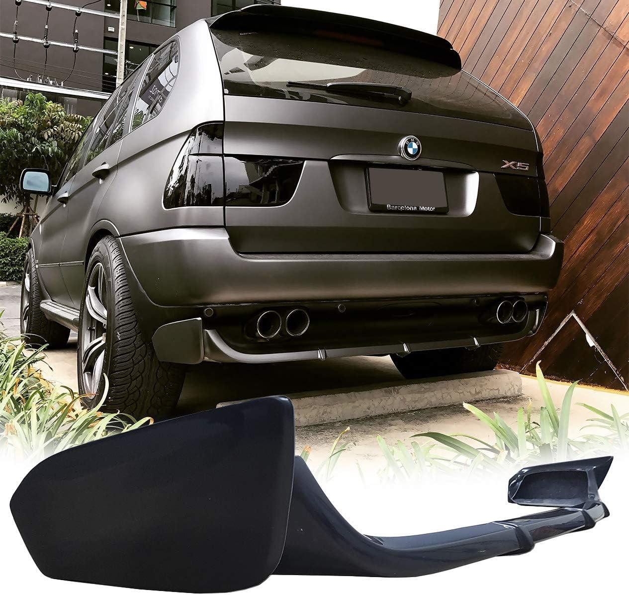 Lasscar Rear Superlatite San Diego Mall Bumper Spoiler Tuning Lip Addon Fit BMW For Valance