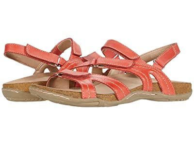 Earth Sand Oahu (Bright Coral Eco Calf) Women