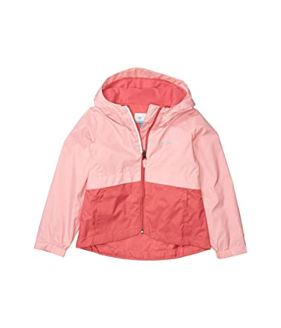 Columbia Kids Rain-Zillatm Jacket (Toddler) (Rouge Pink/Pink Orchid) Girl