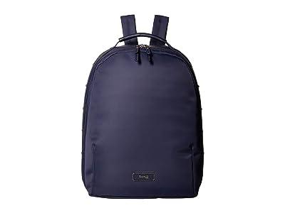 Lipault Paris Business Avenue Medium Backpack (Night Blue) Backpack Bags