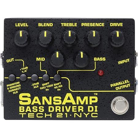 Tech 21 SansAmp Bass Driver DI Effects Pedal