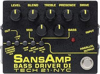 Tech 21 SansAmp Bass Driver Effect Pedal - Version 2