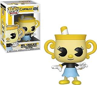 Funko Pop Games: Cuphead - Ms. Chalice Collectible Figure, Multicolor