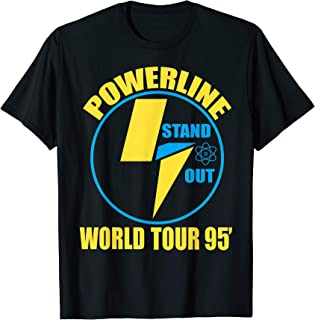 Powerline Shirts World Tour  T-Shirt