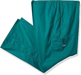Cherokee Women's Workwear Scrubs Mid-Rise Drawstring Cargo Pant