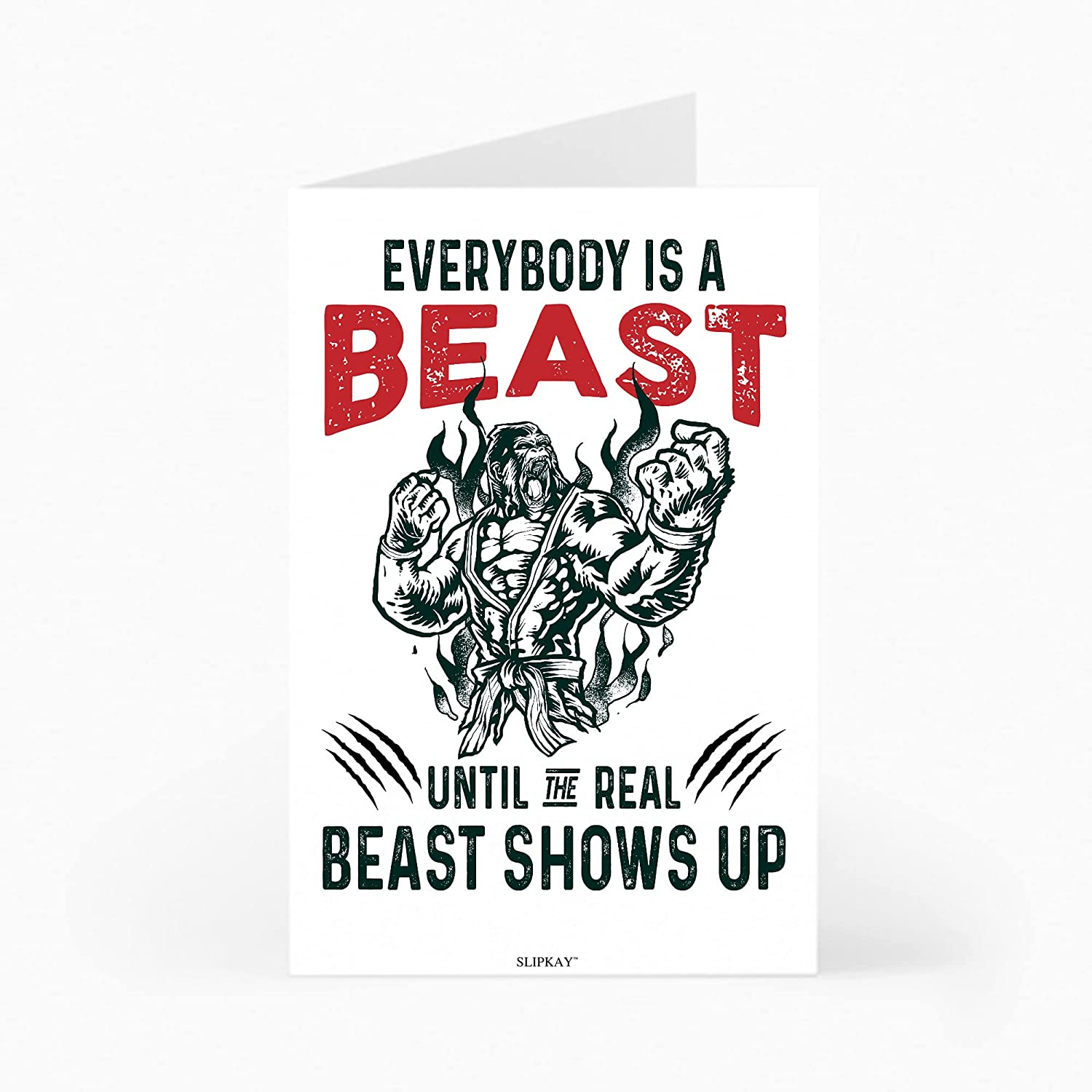 Jiu Indianapolis Mall Jitsu OFFicial shop Gorilla Everybody Is A Beast The Show Real Until