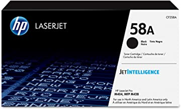 HP 58A   CF258A   Toner Cartridge   Black   Works with HP LaserJet Pro M404 series, M428 series