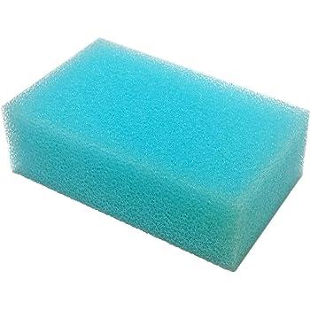 日本珪華化学工業 水切れよく衛生的 ハイホーム クリーンスポンジ 《ブルー》 7.5×11.5×3.5cm