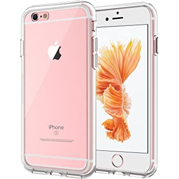JETech Case for iPhone 6 Plus and iPhone 6s Plus 5.5-Inch, Shock-Absorption Bumper Cover, Anti-Scratch Clear Back (HD Clear)