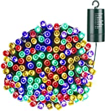 Christmas Lights, Battery Operated 66ft 200 LED String Lights Waterproof Fairy Lights with 8 Modes & Automatic Timer for Home, Patio, Lawn, Garden, Party and Holiday Decorations(Multicolor)